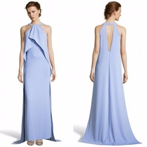 Issue New York draped Halter Gown